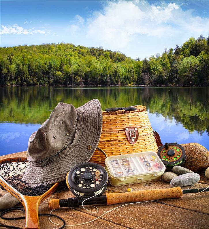 Rybáři jistě přivítají nový ročník veletrhu FOR FISHING (Depositphotos)
