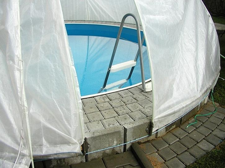 Zakrývání bazénu