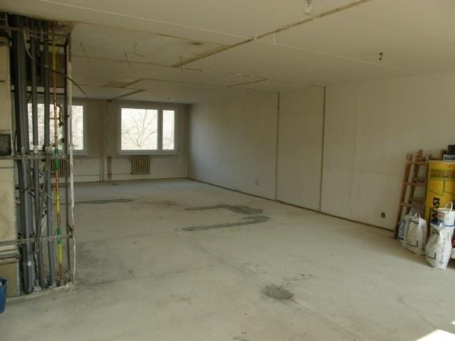 Renovace bytu do tichého hnízdečka s Rigips