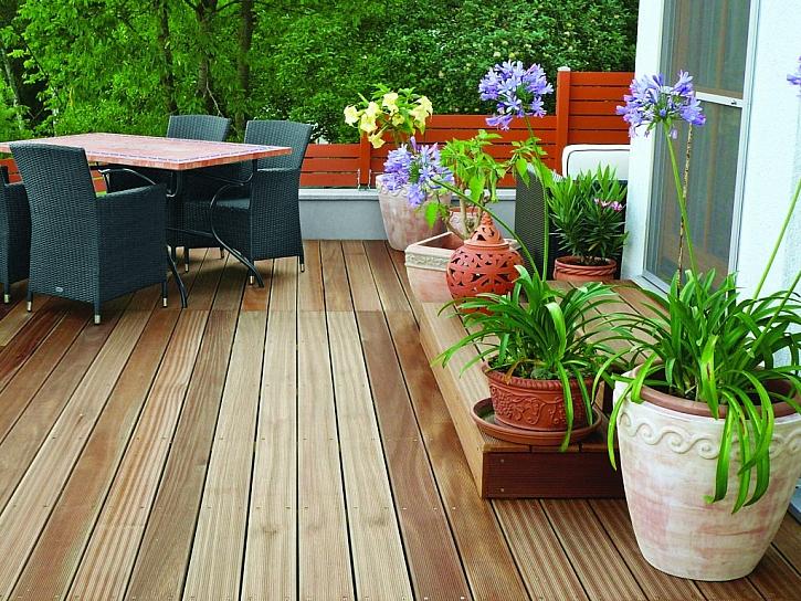 Dřevo na zahradu