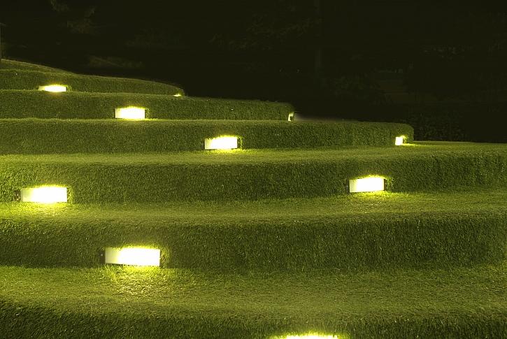 Venkovní osvětlení schodiště
