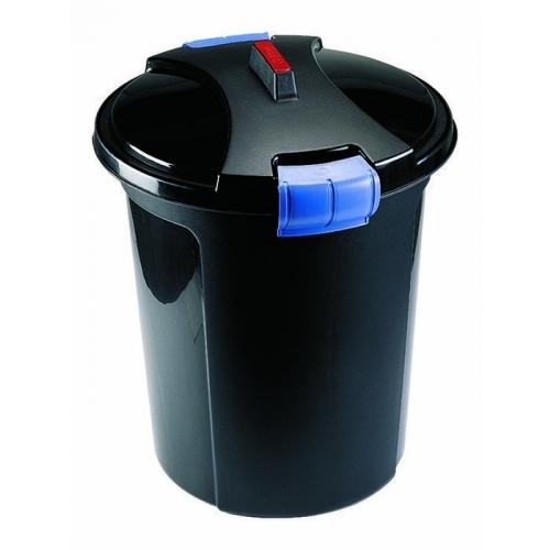 HEIDRUN Odpadkový koš, popelnice 75l, černá