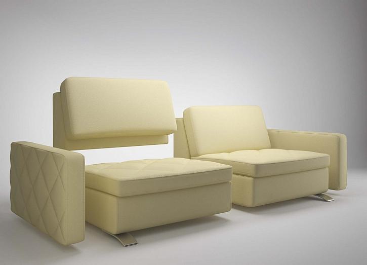 Rafinované rozebírání a skládání čalouněného nábytku