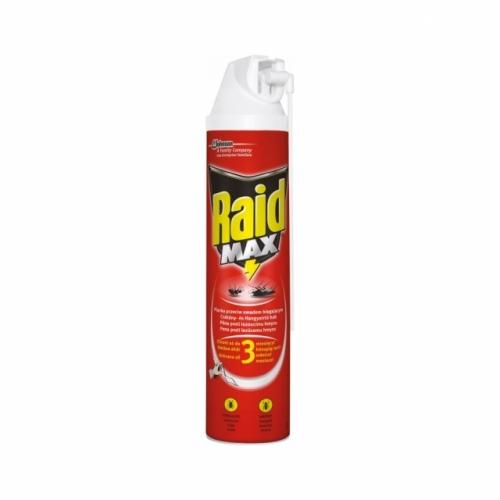 Raid insekticidní pěna k hubení lezoucího hmyzu, 400 ml