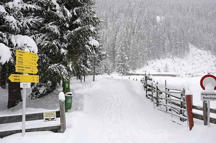 Led ani sníh vás nepřekvapí budete-li mít sypké zimní řetězy (Zdroj: Liapor)