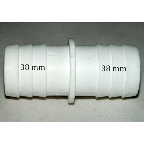 Spojka bazénové hadice 38mm 038-SBH-WH