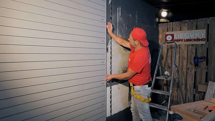 Instalace závěsné stěny