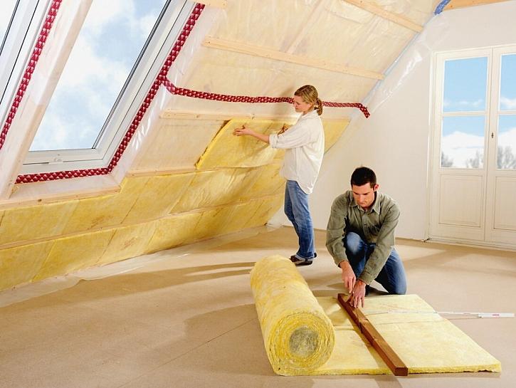 URSA radí jak zateplit šikmou střechu