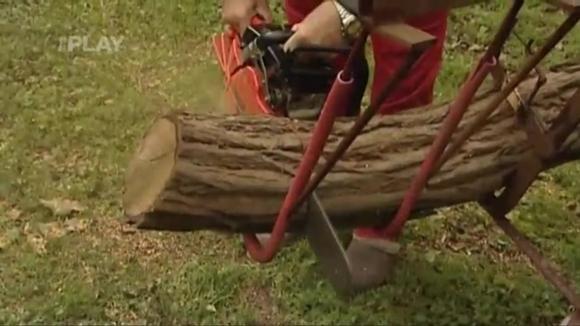 Výroba držáku na řezání dřeva