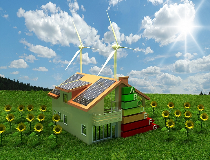 Úspora energií v rodinném domě (Zdroj: Depositphotos)