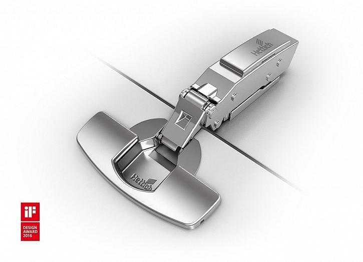 Extrémně nízká zásuvková miska: Se závěsem Sensys pro tenké dveře se mohou použít tenké desky s tloušťkou od 8 mm.