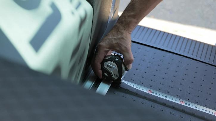 Měření prostoru v autě