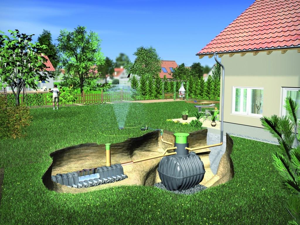 Využití dešťové vody III. - filtrace a čerpadla