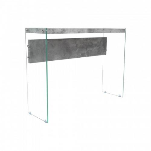 Odkládací stolek sklo/MDF, IDEA nábytek