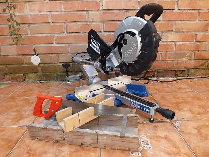 Pokosová pila HM 100 Lxu s potahem a laserem