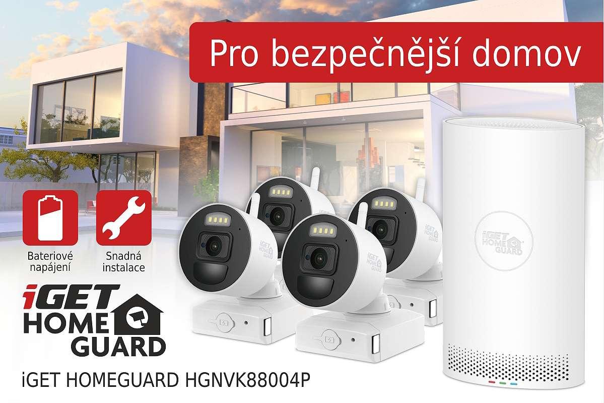 Jednoduchý bezpečnostní systém pro váš domov! Bez elektřiny a zbytečných kabelů