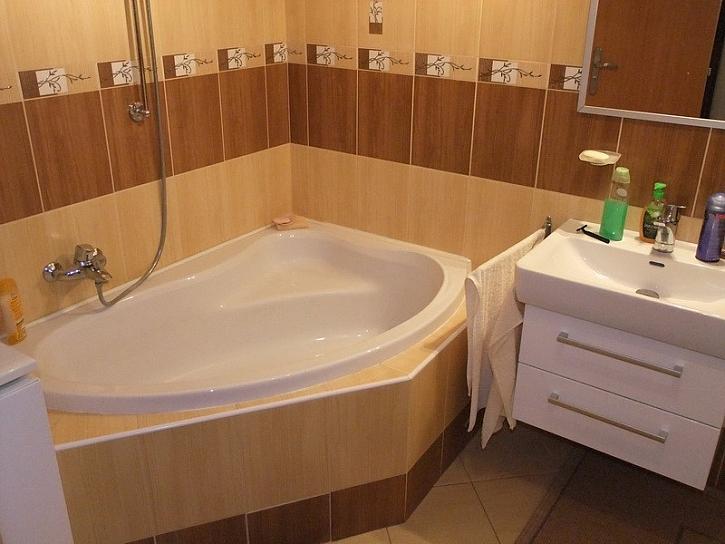 Ytong-koupelna a kuchyň s novým půdorysem,1.díl