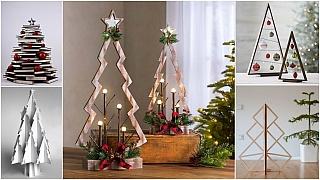 Netradiční vánoční stromky: 8 nápadů na stromečky pro lidi s fantazií