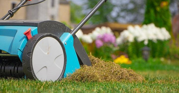 Sekání a zalévání trávníku samo o sobě ke krásně hustému a zelenému pažitu nestačí. Na jaře je důležité provést důkladné provzdušnění - vertikutaci
