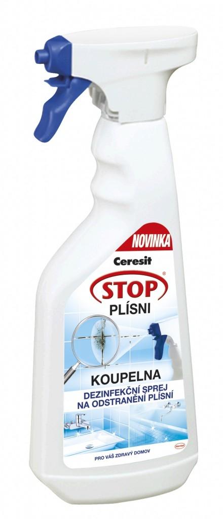 """Sprej Ceresit Stop Plísni – ukliďte plísně k """"ledu"""""""