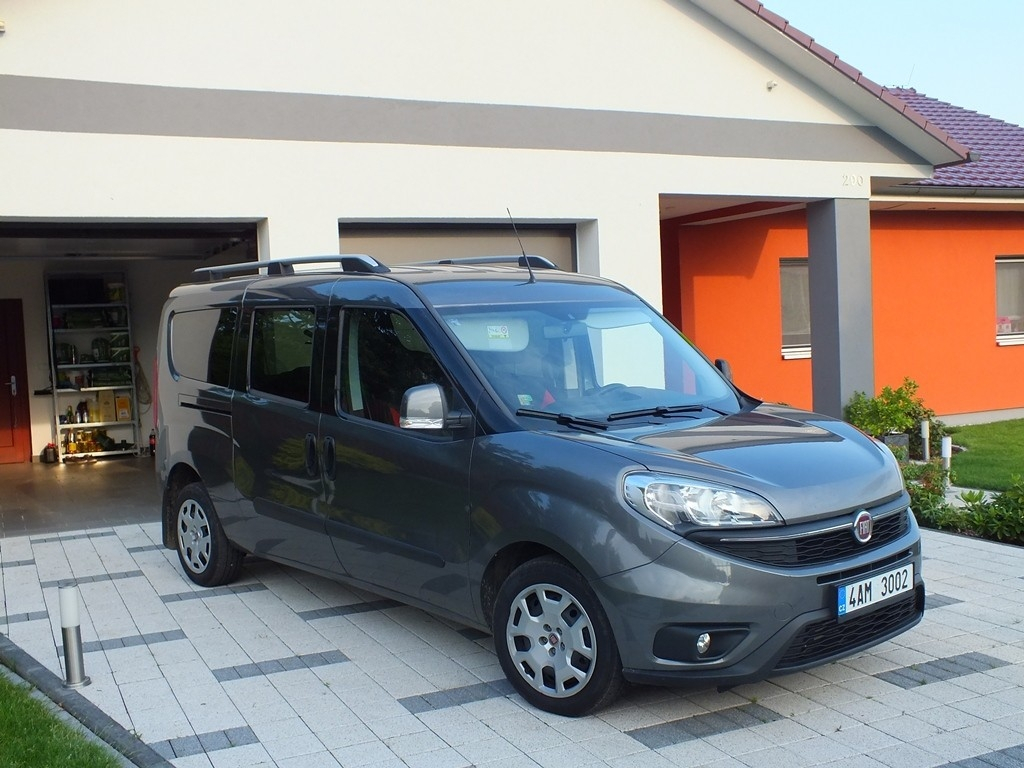 Fiat Doblo - ďábelsky dobrý pro rodiny kutilů i řemeslníků