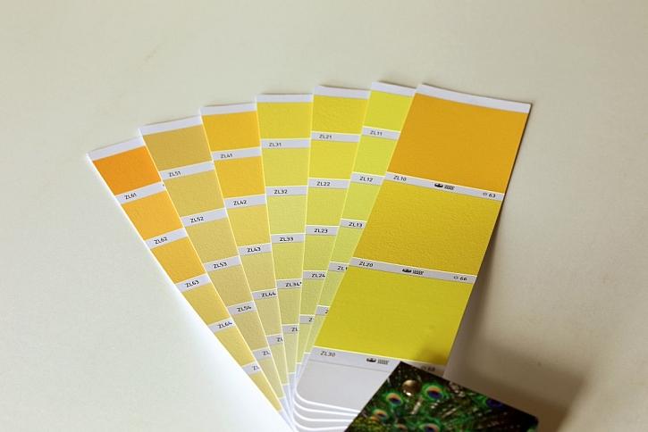 Výrazné přechody mezi barvami usnadňují orientaci