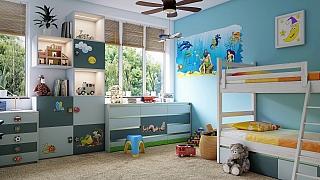 5 tipů, jak dětský pokoj vybavit vesele ahravě, ale hlavně bezpečně