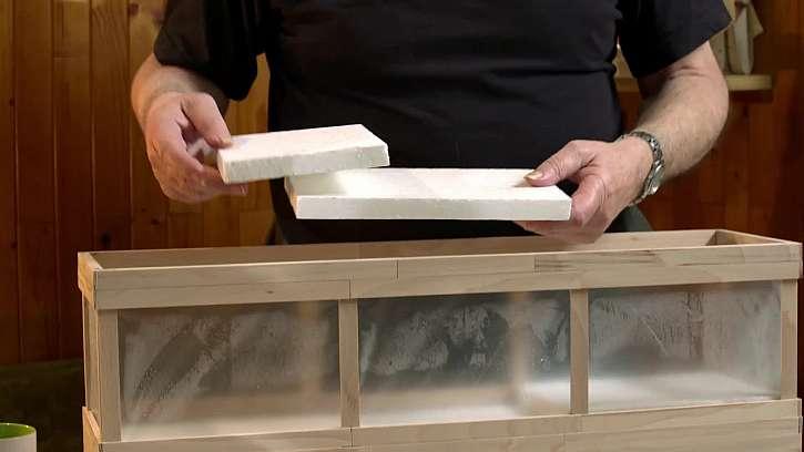 Desky s polystyrénu