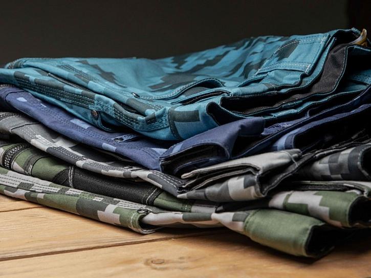Zasoutěžte si o pánské pracovní kalhoty NEURUM s jedinečným vzorem camouflage
