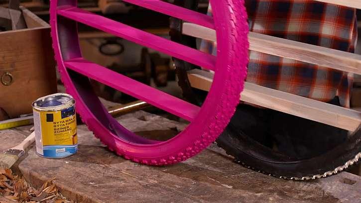 Růžová barva