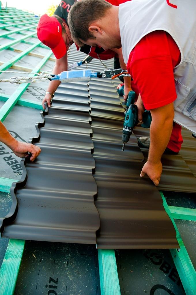 Rekonstruujte střechu s krytinou Finnera