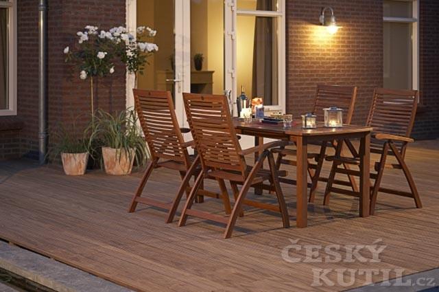 Vladeko: Péče o dřevěný nábytek na zahradě