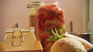 Zpracování zeleniny pro správné kvašení