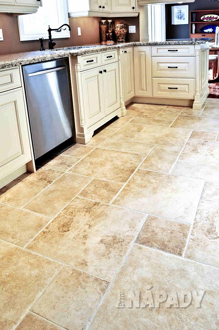 Podlaha v moderní kuchyni