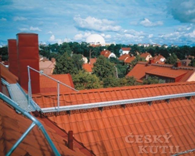 Bezpečnostní systém Lindab Safety: střešní lávky
