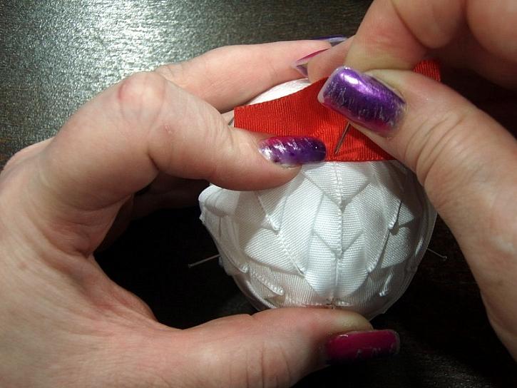 Vajíčko technikou patchwork - velikonoční dekorace