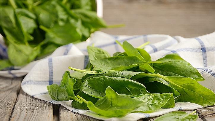 Recept na jarní vaječnou tlačenku: špenát (Spinacia)