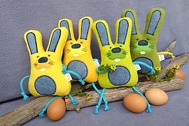 Velikonoční zajíc pro nejmenší koledníky: Prima hračka do kapsy