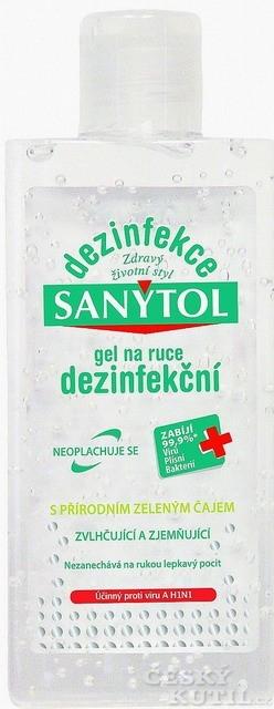 Koupelna v kapse aneb vyzkoušeli jsme za vás Sanytol dezinfekční gel