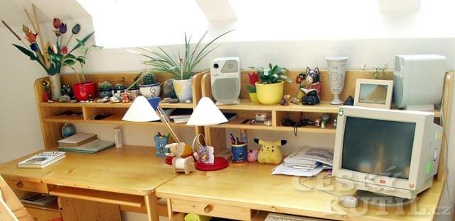 Domácí pracovna nebo zázemí pro školáky – 2. díl