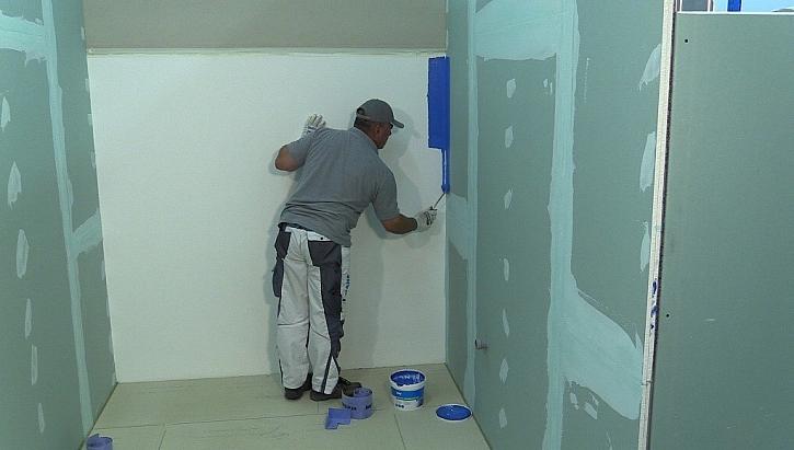 Při stavbě či rekonstrukci koupelny nezapomeňte na hydroizolaci od společnosti Knauf