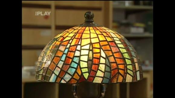 Stínítka a vitráže vyrobené Tiffany technikou