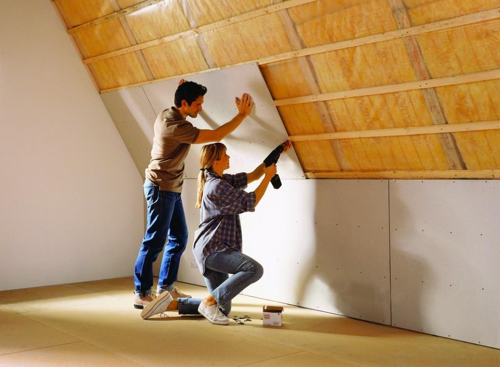 Tip pro úpravu bytu a domu: sádrovláknité desky FERMACELL