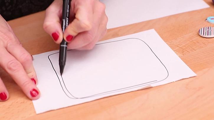 Kreslení šablony
