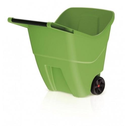 PROSPERPLAST LOAD & GO II 85L Zahradní vozík olivový