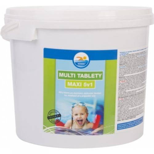 Probazen Multi tablety Maxi 5v1 multifunkční tablety do bazénů, 5 kg