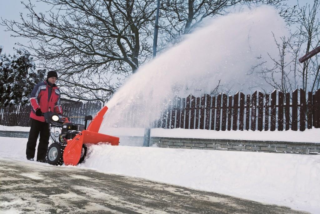 Jak si správně vybrat sněhovou frézu