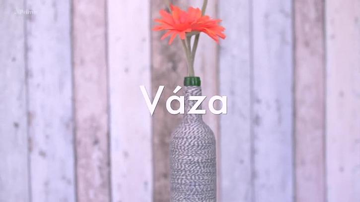 Váza z lahve