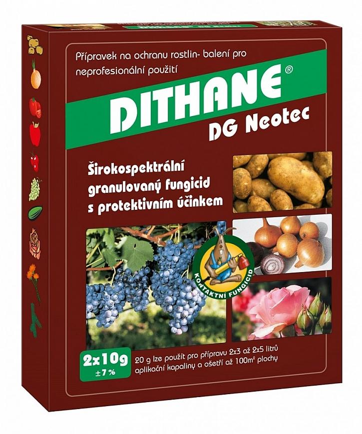 Ochranu proti černé skvrnitosti poskytne například přípravek Dithane DG Neotec