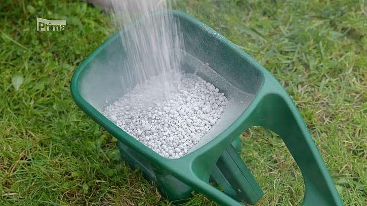 Příprava granulovaného hnojiva.